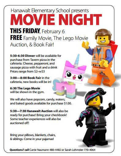 Lego Movie Night 2015