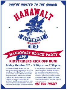 Hanawalt Block Party Mini