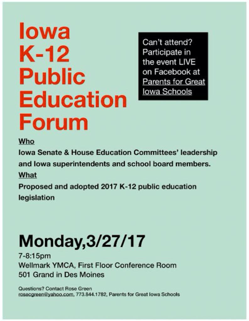 Public Education Forum Mini
